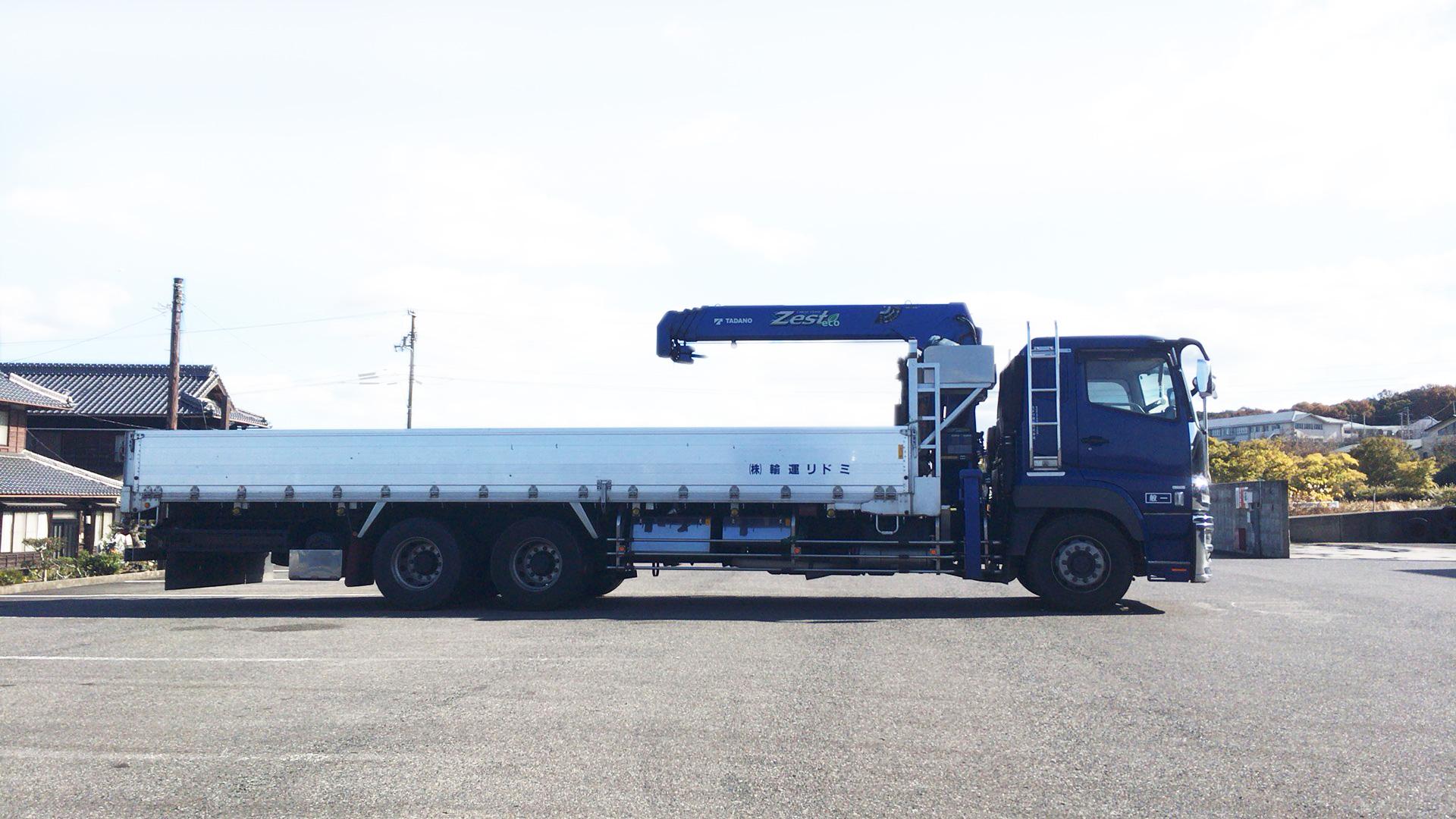 大型・中型トラック ( クレーン付 )2