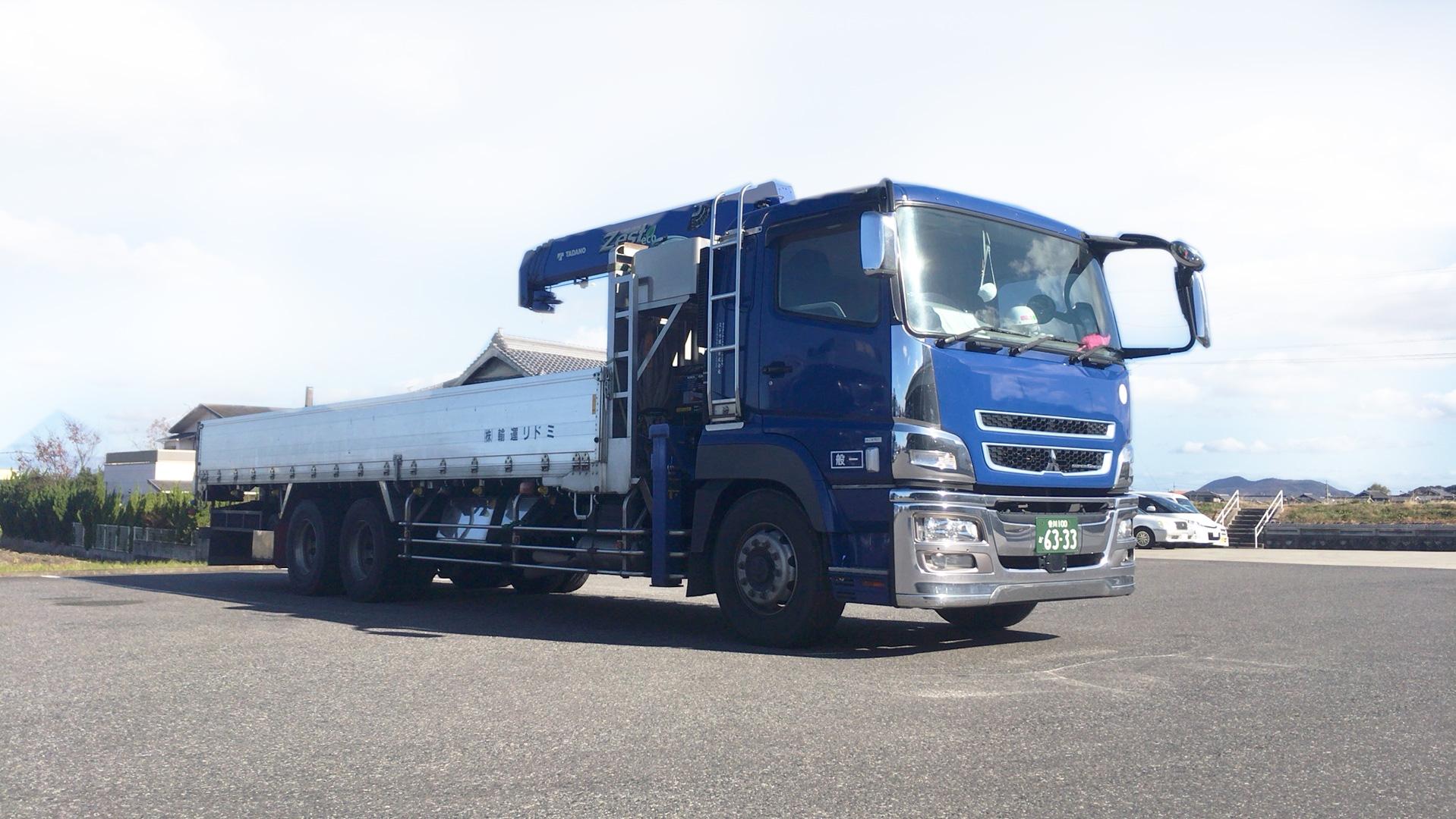 大型・中型トラック ( クレーン付 )1